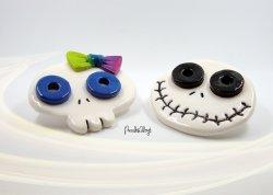 Verdampfer Ständer Skulls zu kaufen im Etsy-Shop von PuzzlesBlogt